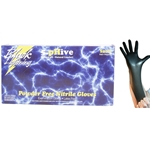 BOWES GL BLACK L NITRILE GLOVES LARGE BLACK